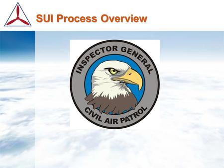 SUI Process Overview Timeline  60 Days before SUI Due Date  30 Days before SUI Due Date  10 Days before SUI Scheduled Date  5 Days before SUI Scheduled.
