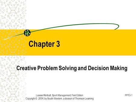 Creative problem solving in organizations