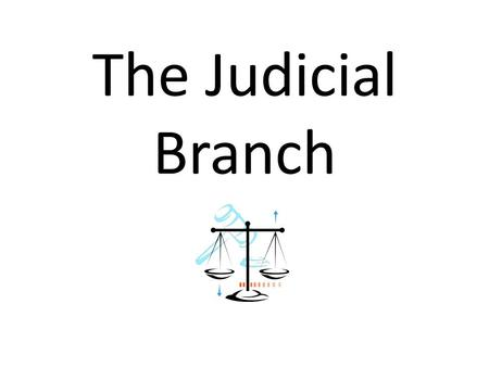 The Judicial Branch. Federal Court Structure U.S. Supreme Court U.S. Courts of Appeal U.S. District Courts.