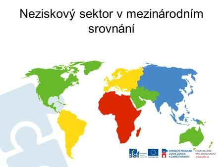 Neziskový sektor v mezinárodním srovnání. Identifikace srovnávacího projektu: The Johns Hopkins Comparative Nonprofit Sector Project is a systematic effort.
