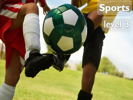 Do you know the names of these popular British sports? Key vocabulary 1 of 2.