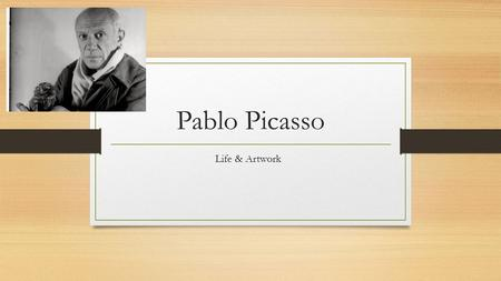 Pablo Picasso Life & Artwork. How he got interested Edvard Munch Henri de Toulouse -Lautrec Picasso first emerged as a Symbolist influenced by the likes.