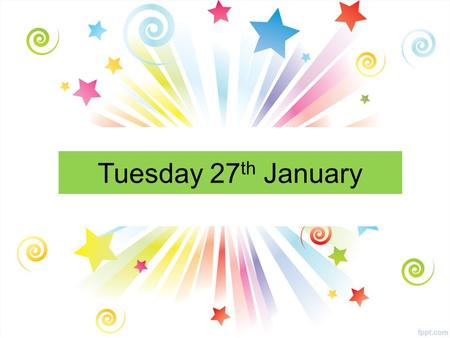 Tuesday 27 th January. All Year Groups Cake Sale Outside the Janitors office Wednesday 28 th January Interval and Lunch Time Raising funds for ' Free.