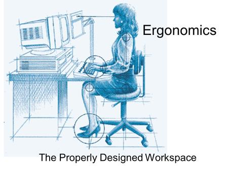 The Properly Designed Workspace