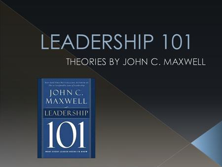  Leadership ability is the lid that determines a persons level of effectiveness.  The lower the ability to lead the lower the lid of ones potential.