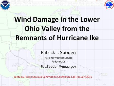 Wind Damage in the Lower Ohio Valley from the Remnants of Hurricane Ike Patrick J. Spoden National Weather Service Paducah, KY Kentucky.