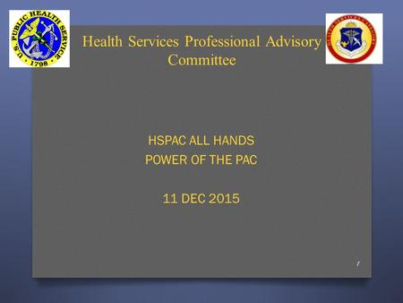 Health Services Professional Advisory Committee