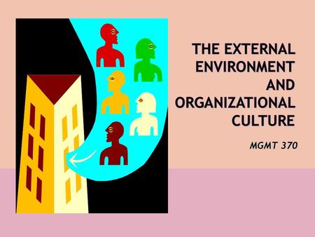 MGMT 370. Figure 2.1 Organizations that are affected by, and that affect, their environment.