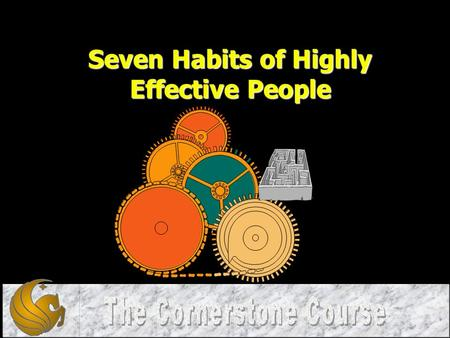 Seven Habits of Highly Effective People. 1.What is a Habit? 2.Seven Habits Paradigm 3.The Seven Habits 4.The 8 th Habit.