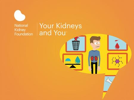 The National Kidney Foundation is the largest organization in the U.S., dedicated to the awareness, prevention, and treatment of kidney disease.
