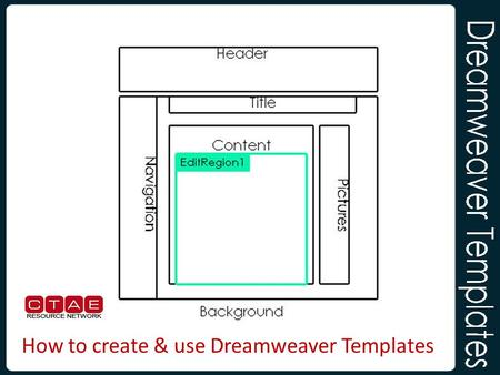 From template to online business quick build quick for Dreamweaver layout templates