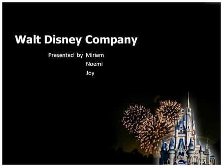 walt disney companys yen financing essay Thewalt$disney$company:$ acorporatestrategy$analysis$ november$2012$ written'by'carlos'carillo,'jeremy'crumley,'kendree'thieringer'and.