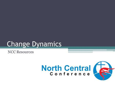 Change Dynamics NCC Resources. Elements of Change Management identifying the desired change identify obstacles prepare people for change acknowledge positive/neg.
