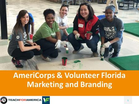 111 AmeriCorps & Volunteer Florida Marketing and Branding.