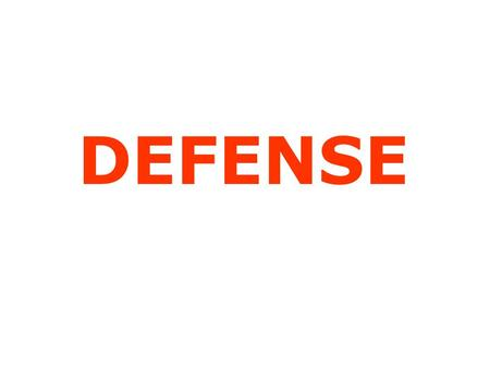 DEFENSE. Defensive Philosophy Our defense is an attack defense with the following attributes: 1. It is highly adaptable to any offense. 2. We can use.