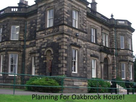 Planning For Oakbrook House!. Ground Floor In Oakbrook.