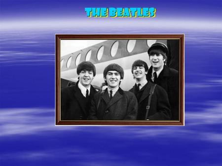 "THE Beatles. ""Beat"" – удар, аккорд + ""Beetles"" – жуки = THE Beatles."