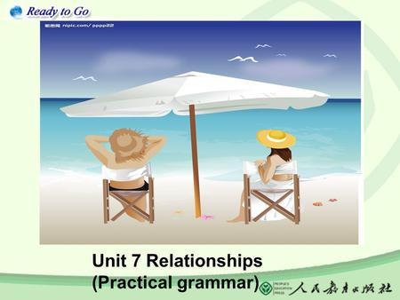 Unit 7 Relationships (Practical grammar) Tomplayfootball.ising Lucy is reada book.ing What is Tom doing right now? What is Lucy doing right now?