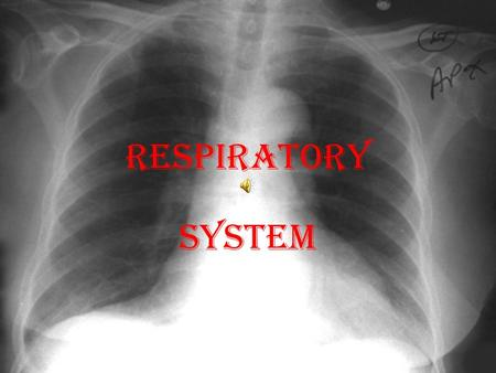 RESPIRATORY SYSTEM Why, oh why? Or else we'll die! Our Respiratory System provides our body with __________ for the purpose of ____________________.