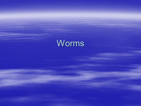 Worms. Flatworms Flatworms are invertebrate. It has a head, or anterior end, and tail, or posterior end. Like most animals, flatworms are bilaterally.