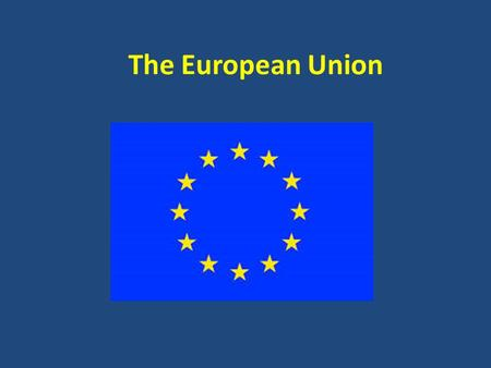 The European Union. Major Themes: What does the EU help us teach? Interdependence and Cooperation Nationalism, Language and Identity Diversity, Multiculturalism.