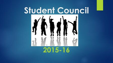 Student Council 2015-16. What is it all about? A school council does a number of things:  The school council meets - with a member of staff present -