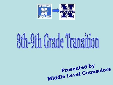 Presented by Middle Level Counselors. Program Planning Timeline 1/14 High School Principle Presentations 1/20 Classroom Presentations 1/20 Parent Meeting.