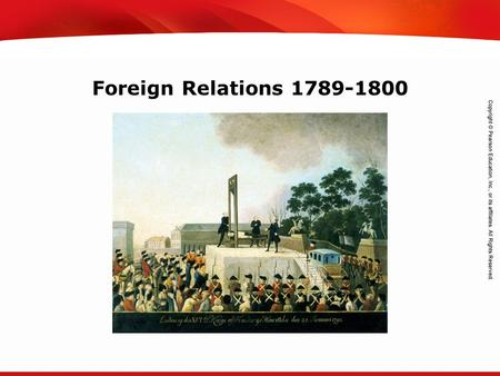 TEKS 8C: Calculate percent composition and empirical and molecular formulas. Foreign Relations 1789-1800.