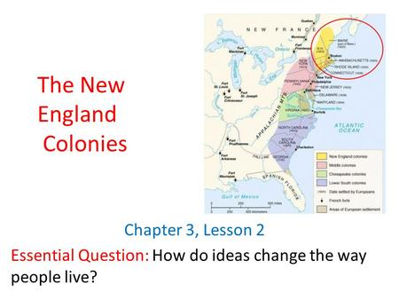 new england and chesapeake differences essay