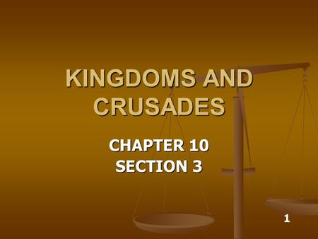 KINGDOMS AND CRUSADES CHAPTER 10 SECTION 3 1. ALFRED THE GREAT king of Wessex king of Wessex drove Vikings out of Britain drove Vikings out of Britain.