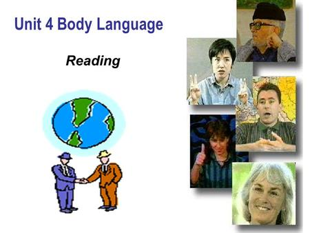 Unit 4 Body Language Reading.