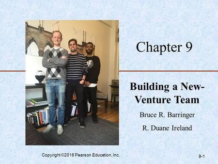 Building a New-Venture Team