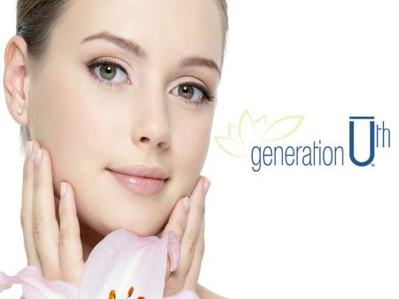 Generation Ū th a Simple 3-Step System Cleanse Revive Moisturize.