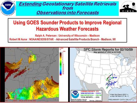 using the short fuse composite to forecast severe