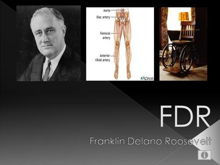 Born Franklin Delano Roosevelt in Hyde Park, New York on January 30, 1882. Graduate Harvard with a BA in History in 3 years. Attended Columbia Law and.