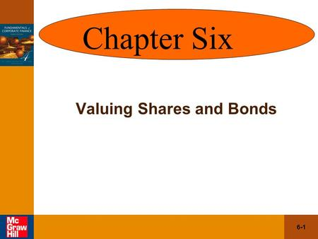 Valuing Shares and Bonds