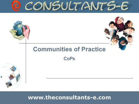 Communities of Practice CoPs www.theconsultants-e.com.