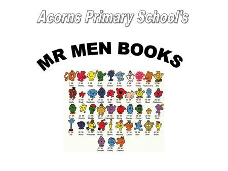 The children in years 3-6 made their own Mr Men books for the pupils in year 1 and 2. They needed to make sure that the books were colourful, simple and.