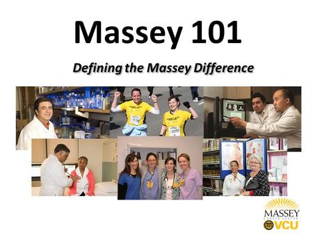 Massey 101 Defining the Massey Difference. Defining Massey.