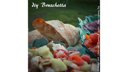 diy Bruschetta – Ciabatta Recipe taken from  Ingredients: 500g Strong white bread flour, plus extra for dusting.
