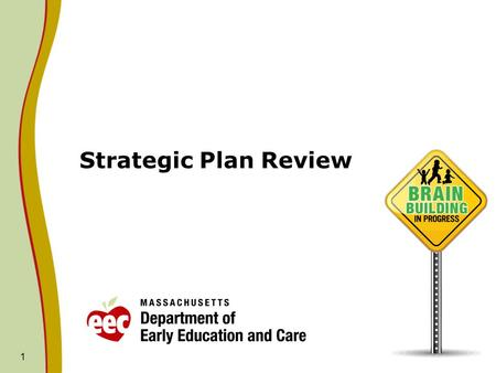 1 Strategic Plan Review. 2 Process Planning and Evaluation Committee will be discussing 2 directions per meeting. October meeting- Finance and Governance.