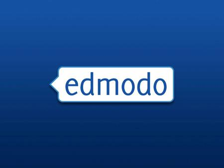 1 Investor Introduction, Q2 2010. Welcome Edmodo for Schools and Districts Presenter: Ben Wilkoff Online Community Manager