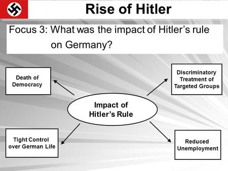 a history of hitlers rise to power in germany
