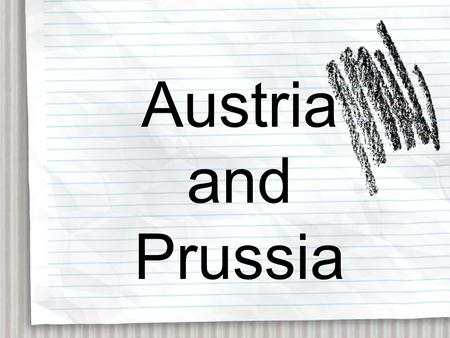Austria and Prussia. The Thirty Years War that ended in 1648 was the last of the wars of religion. In fact the final phases of the war were more about.