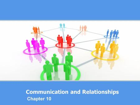 Communication and Relationships Chapter 10. What is your personal communication style?