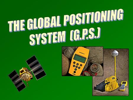 Introduction Introduction The GPS System (3 components) The GPS System (3 components) Calculating a Position Calculating a Position Differential GPS Differential.