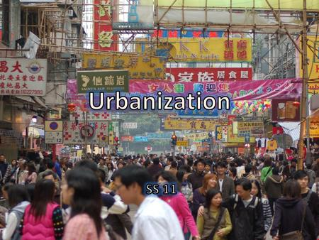 What is a city? Answers……. Are some cities more crowded than others?