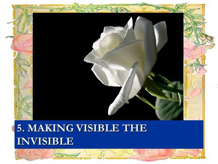 5. MAKING VISIBLE THE INVISIBLE. THEME : SUFFERINGS FROM DOMESTIC WORKERS.