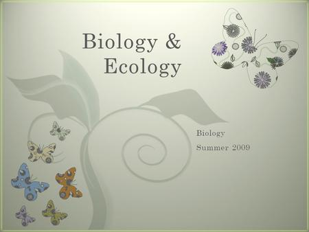 "7 Biology & Ecology. List 100 ""things"" that ehist at CVCC. Determine if each ""thing"" is Living (L) Non-living (NL) Dead (D) Questionable ""Things""…."