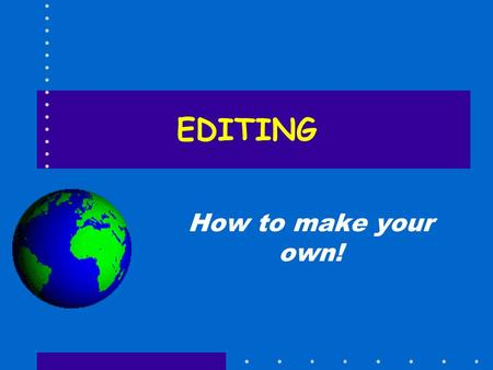 EDITING How to make your own!. esf Laboratory for Applied GIS 2 Manuscript Maps Paper maps drawn by a cartographer Generalization is a problem Scale is.